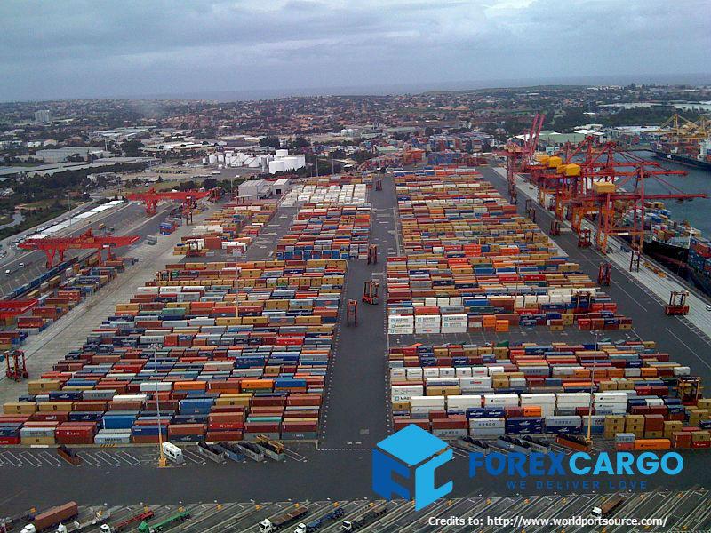 Forex Cargo Australia Sydney Container