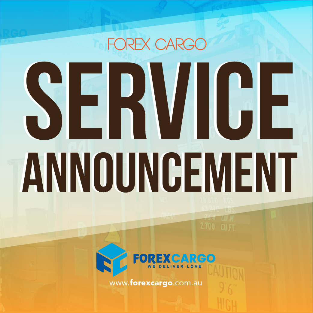 forex-cargo-service-announcement