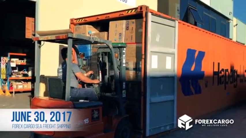 June 30 Balikbayan Box Forex Cargo Loading container